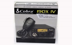 Cobra 40 Channel Mobile Compact CB Radio 19DX IV