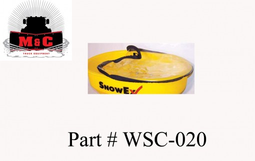 SnowEx Lid/Tarp for Wireless and Utility Spreaders WSC-020