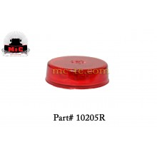 5 Pack / Truck-Lite Model 10 Red 2-1/2'' Marker/Clearance Lamp 10205R