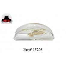 3 Pack / Truck-Lite Clear Model 15 Light 15208