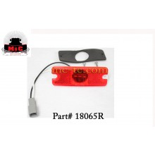 Truck-Lite LED Red Model 18 Marker Lamp Kit 18065R