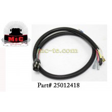 Hiniker Plow Light Pigtail Wire Harness 25012418