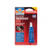 Permatex High Strength Threadlocker Red - 6 mL tube 27100