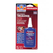 Permatex High Strength Threadlocker Red - 36 mL bottle 27140