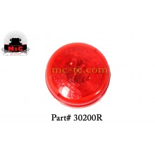 """5 Pack / Truck-Lite Red 2"""" Model 30 Marker Clearance Lamp 30200R"""