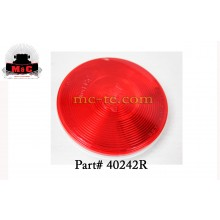 """2 Pack / Truck-Lite Red 4"""" Super 40 Stop/Turn/Tail Lamp 40242R"""