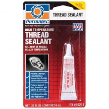 Permatex High Temperature Thread Sealant - 6 mL tube 59214