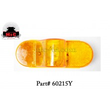 2 Pack / Truck-Lite Yellow 60 Series Side Turn/Marker Clearance Lamp 60215Y
