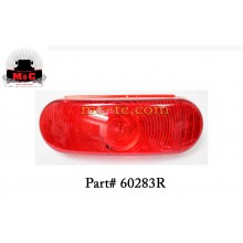 2 PACK / Truck-Lite Red Economy 60 Stop/Turn/Tail Lamps 60283R