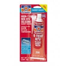 Permatex High-Temp Red RTV Silicone Gasket Maker - 3 oz. tube 81160
