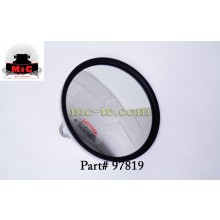 "2 Pack / Truck-Lite 6"" Round Centered Convex Mirror Head 97819"
