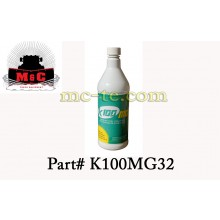 K100 MG Fuel Treatment for 2 and 4 Cycle Engines 32 oz * Case of 12 *