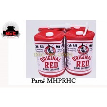 4 Pack / Mule Head Brand 1 gal. Original Red Hand Cleaner MHPRHC