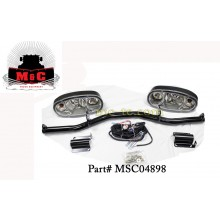BOSS Snowplow Headlight Upgrade Kit MSC04898