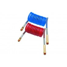 Phillips 15' Coiled Air Assembly Set (Red & Blue) with Power Grip 11-3150