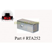 "2-1/2"" to 2"" Receiver Tube Adaptor RTA252"