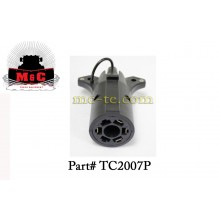 3 Pack / 7-Pin Plastic Trailer End Connector (flat) TC2007P